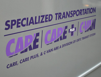 specialized transportation - CVAN & CARE